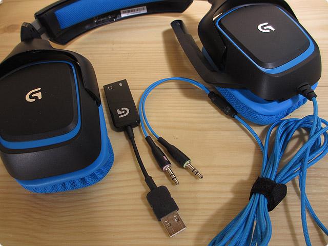 ロジクール|ゲーミングヘッドセット(G430)